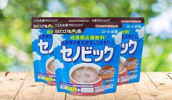Sữa bột Rohto Senobikku
