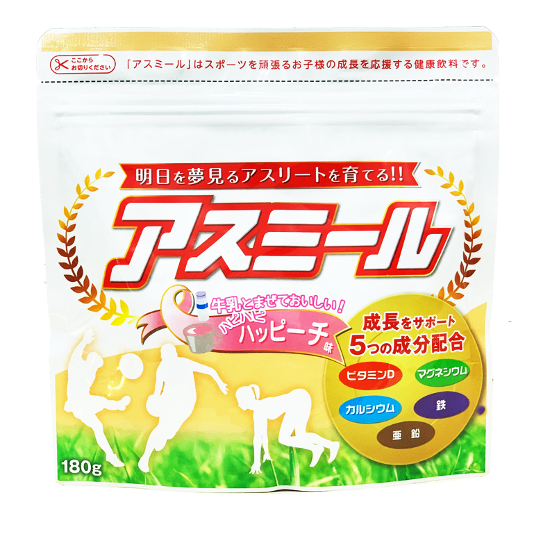 Sữa ASUMIRU ( Vị Đào) – Sữa tăng trưởng chiều cao Asumiru Nhật Bản 3 -16 tuổi