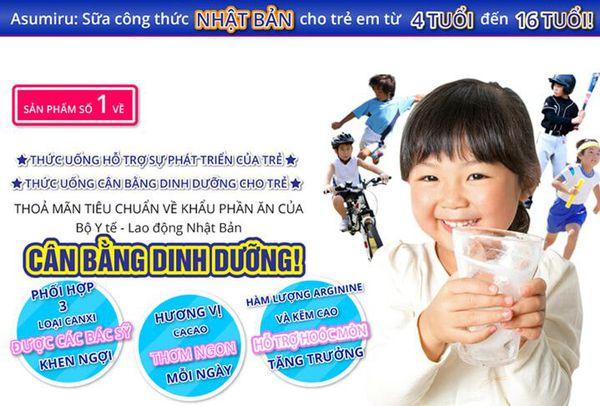 Sữa phát triển chiều cao của Nhật loại nào tốt?