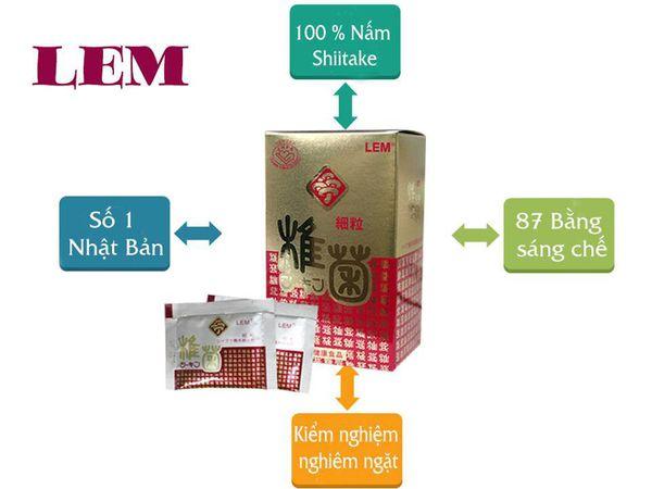 LEM ung thư- sản phẩm từ Nhật Bản