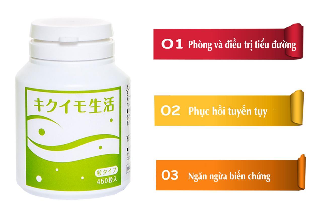 Người bệnh tiểu đường nói gì về thực phẩm chức năng hỗ trợ điều trị tiểu đường Kikuimo
