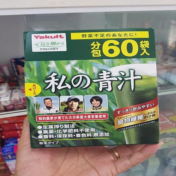 Giá bột rau xanh Yakult