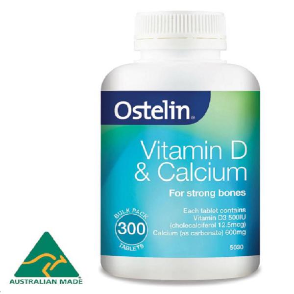 Canxi Ostelin và Vitamin D