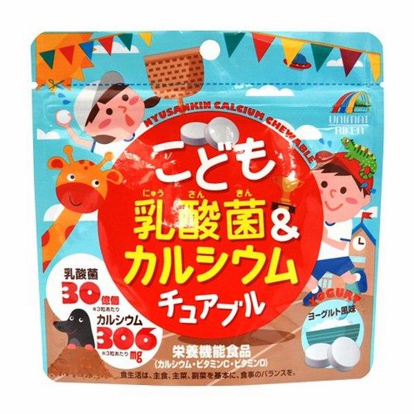 Kẹo nhai bổ sung Canxi và Lactic Unimat Riken