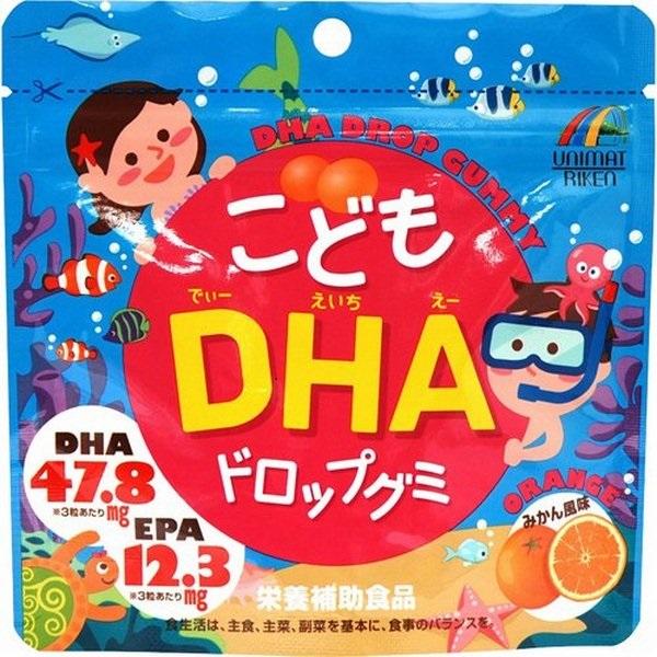 Kẹo bổ sung DHA cho bé của Nhật