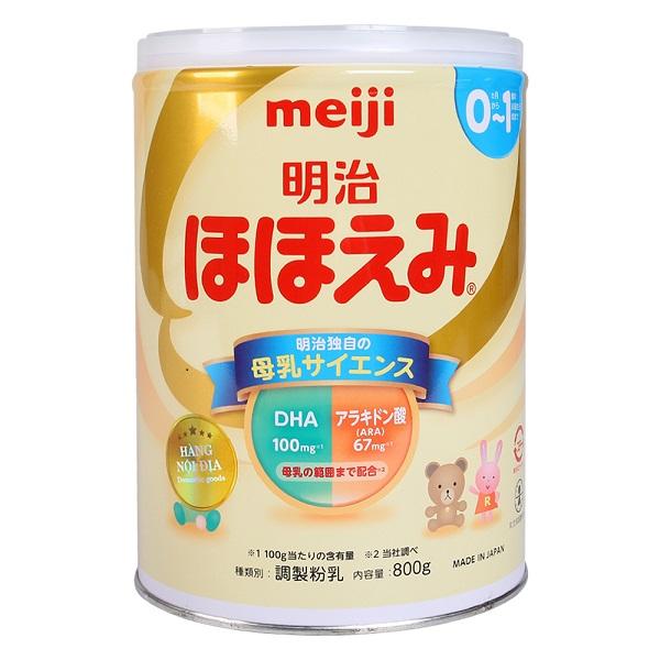Top 10 loại sữa cho trẻ sơ sinh từ 0-6 tháng tuổi tăng cân, dễ uống