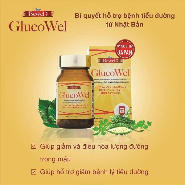 Viên uống Nhật Bản Waki Bewel GlucoWel