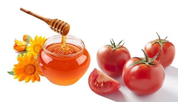 Giải rượu bằng mật ong với cà chua