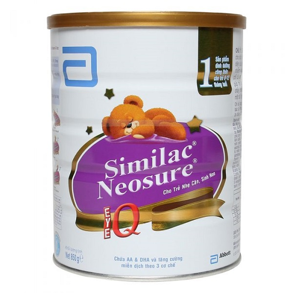 Sữa Similac Neosure IQ