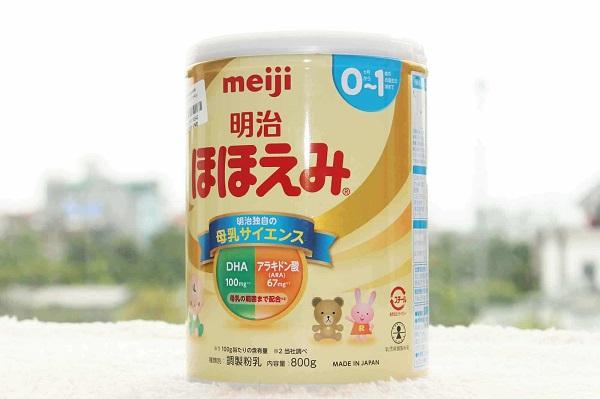 Sữa công thức Meiji của Nhật