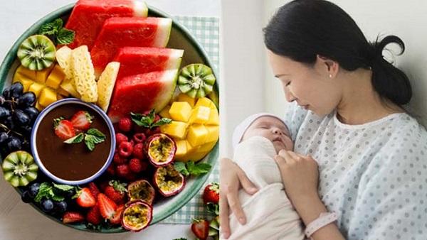 Chế độ dinh dưỡng cũng ảnh hưởng đến nguồn sữa mẹ