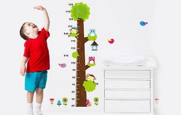 Cách đo chiều cao cho bé