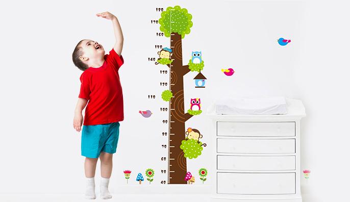 Cách đo chiều cao cho trẻ