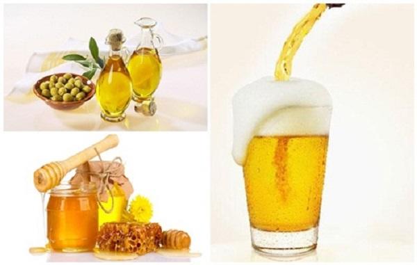 Bia kết hợp mật ong cải thiện sắc tố da