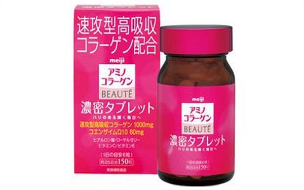 Collagen Meiji Beaute - Hộp 150 viên