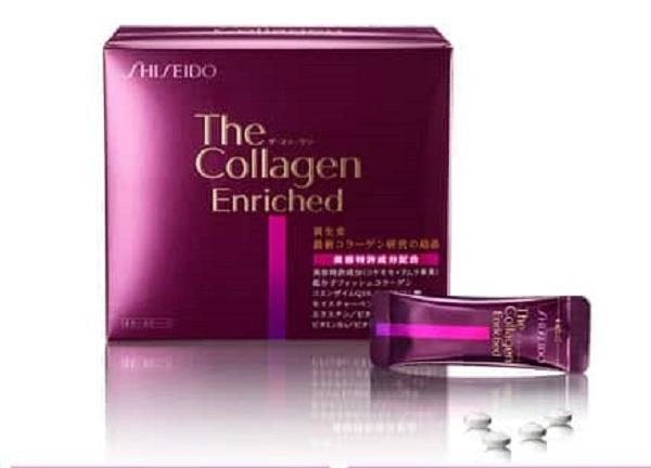 Collagen Shiseido Enriched dạng viên