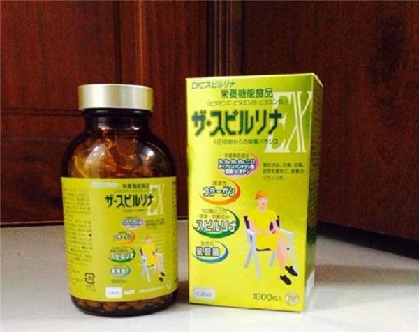 Cách sử dụng tảo vàng Nhật Bản