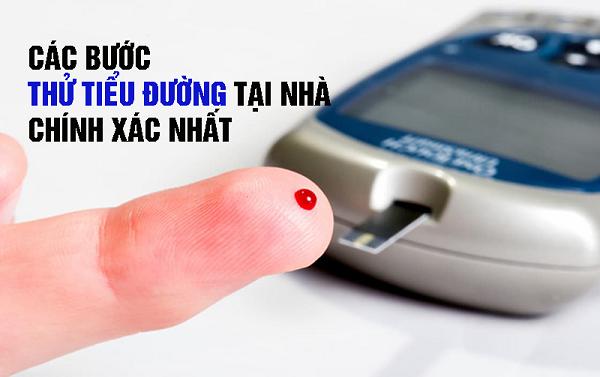 Các bước kiểm tra tiểu đường tại nhà