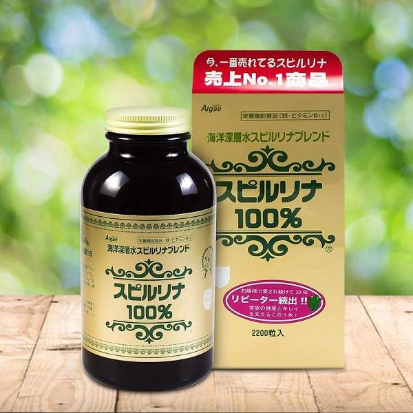 Tảo xoắn Spirulina Nhật Bản - Tác dụng, cách dùng & giá bán