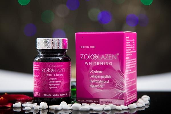 Viên uống trị nám collagen Zokolazen Whitening