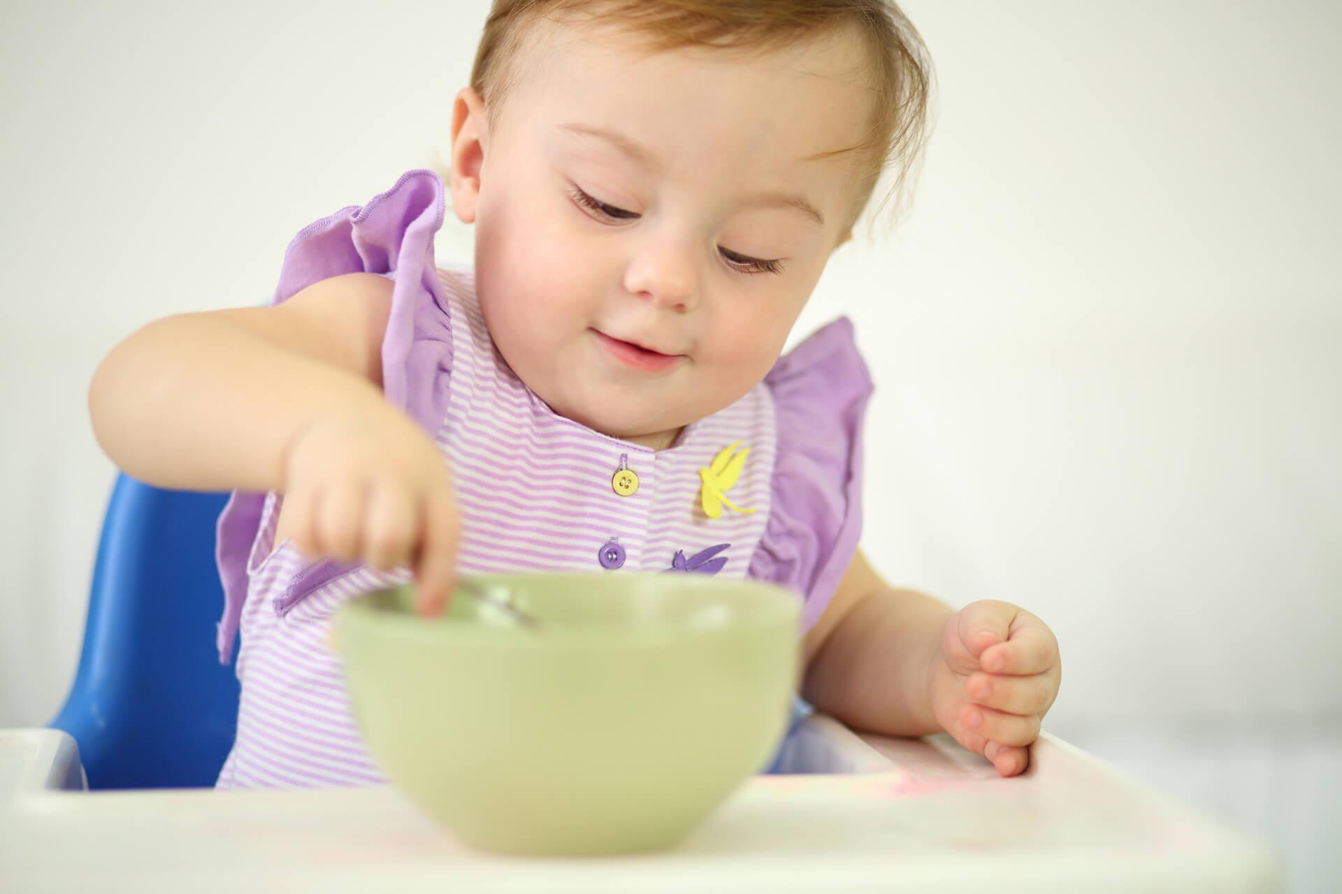 Chế độ ăn dặm cho bé 8 tháng tuổi
