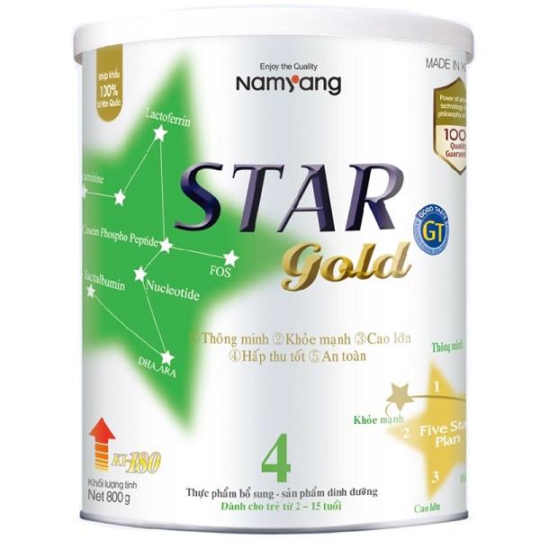 Sữa bột Star Gold số 4