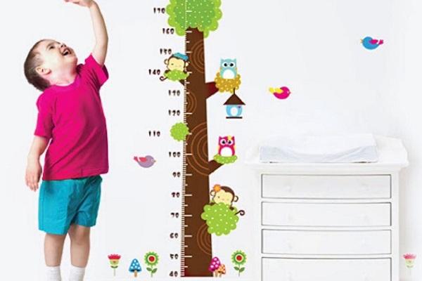 Bí quyết tăng chiều cao tối đa cho trẻ