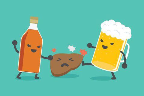 Cơ thể ra sao khi không có men rượu
