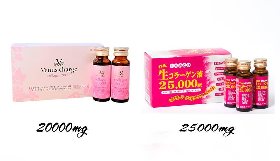So sánh tất tần tật các loại collagen nước của Nhật Bản hiện có trên thị trường