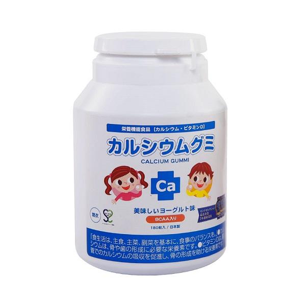 Top 4 loại kẹo canxi của Nhật -