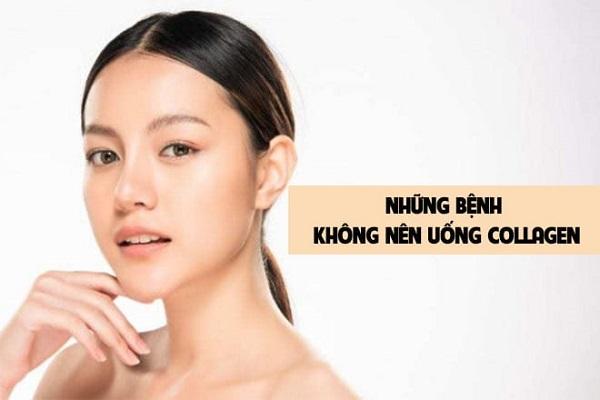 Trường hợp không nên sử dụng collagen