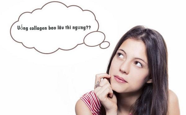 Uống collagen bao lâu thì ngưng?