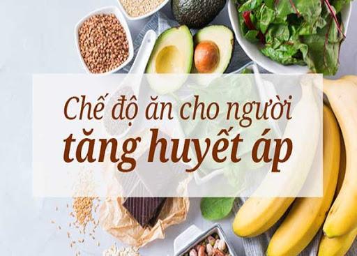 Lưu ý trong chế độ ăn uống của người bị cao huyết áp