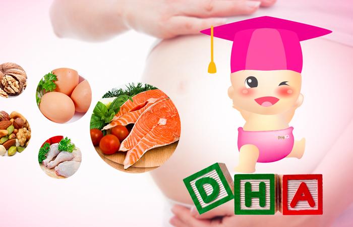 Thực phẩm giàu DHA