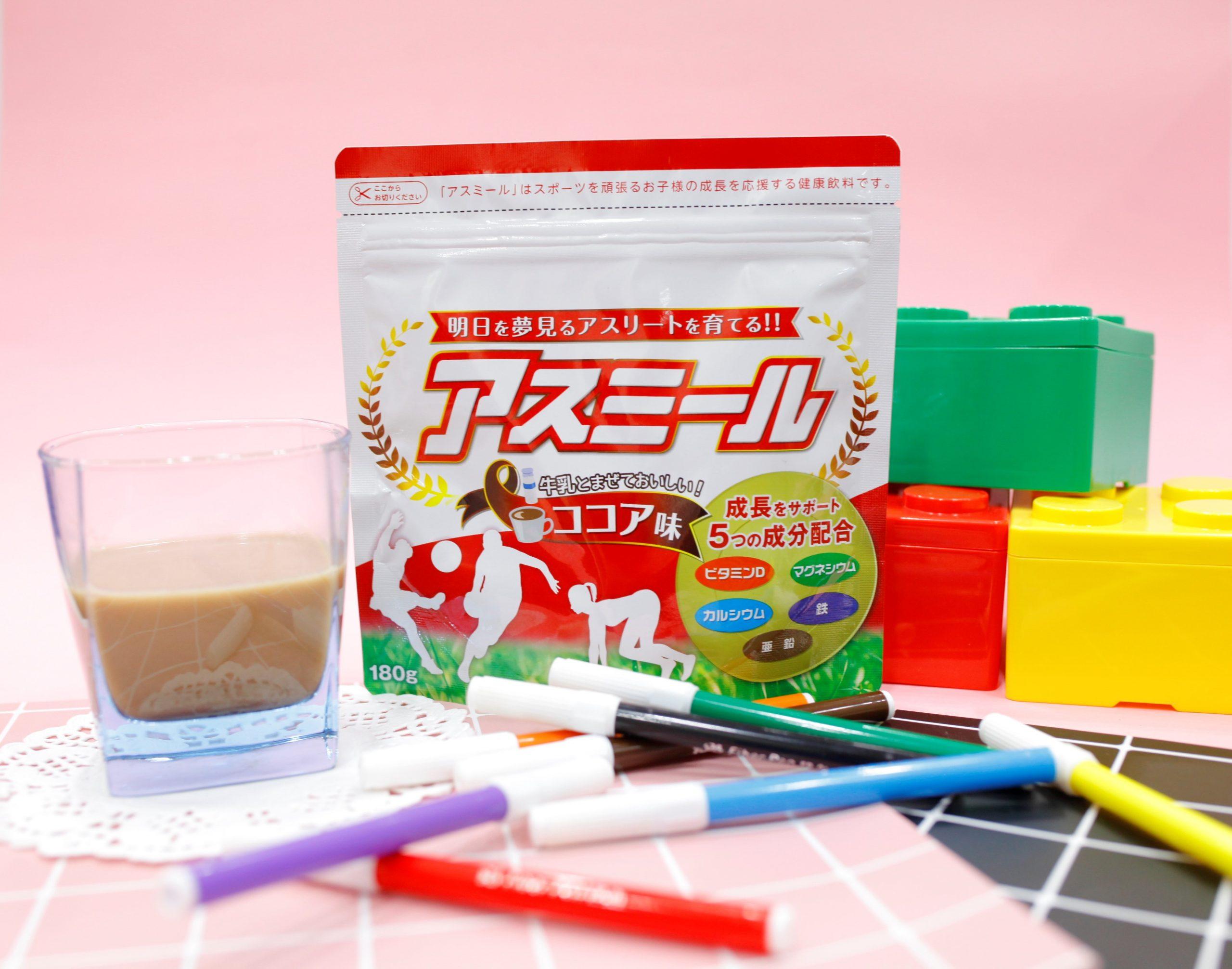 Sữa Asumiru bổ sung canxi từ san hô
