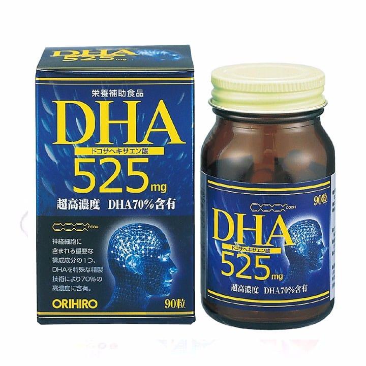 Thuốc bổ não cho học sinh DHA Orihiro 525mg